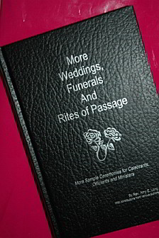 Wedding Funeral Ceremony Book